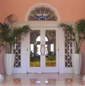 Palm Style Planters