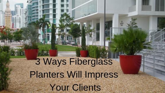 Fiberglass Planters