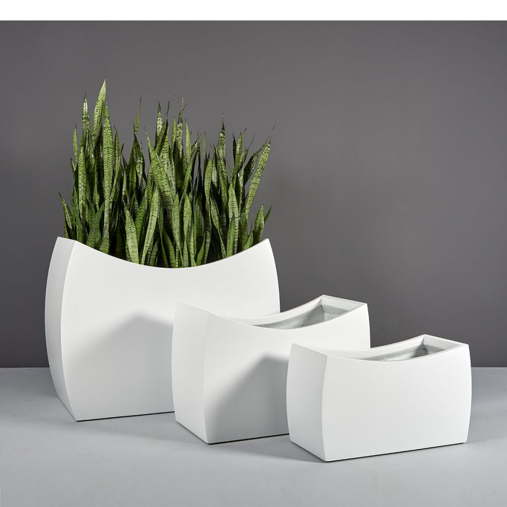 Seoul Modern Rectangular Planter