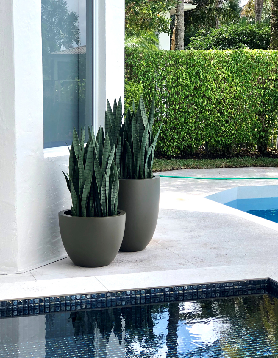 choose right color for planter gray