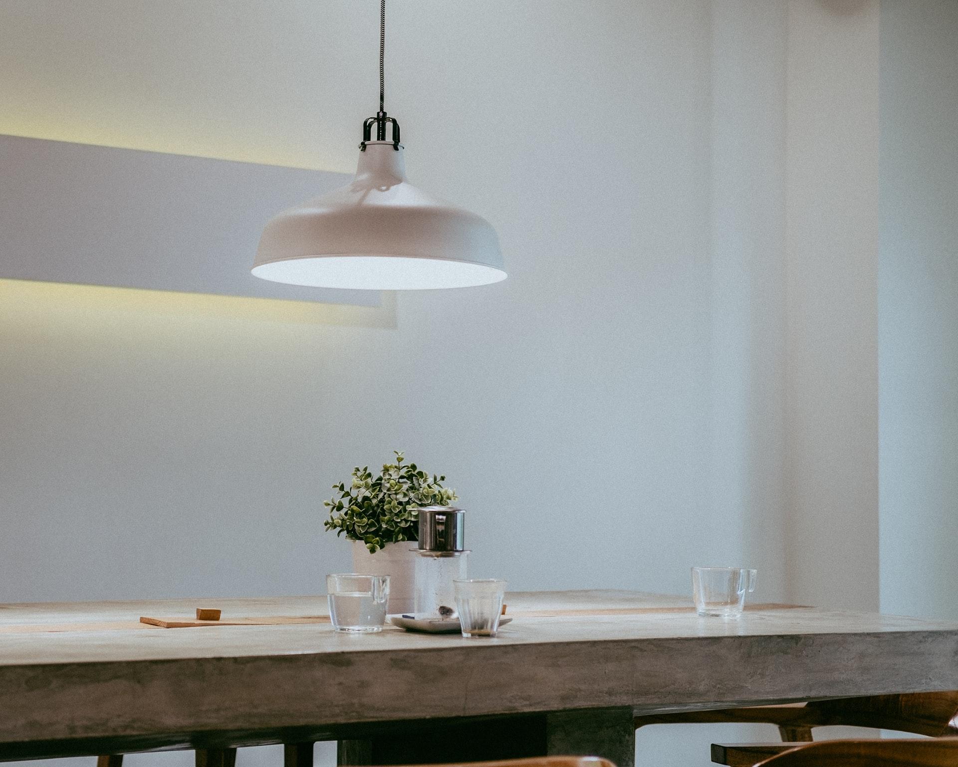 Space in minimalist interior design