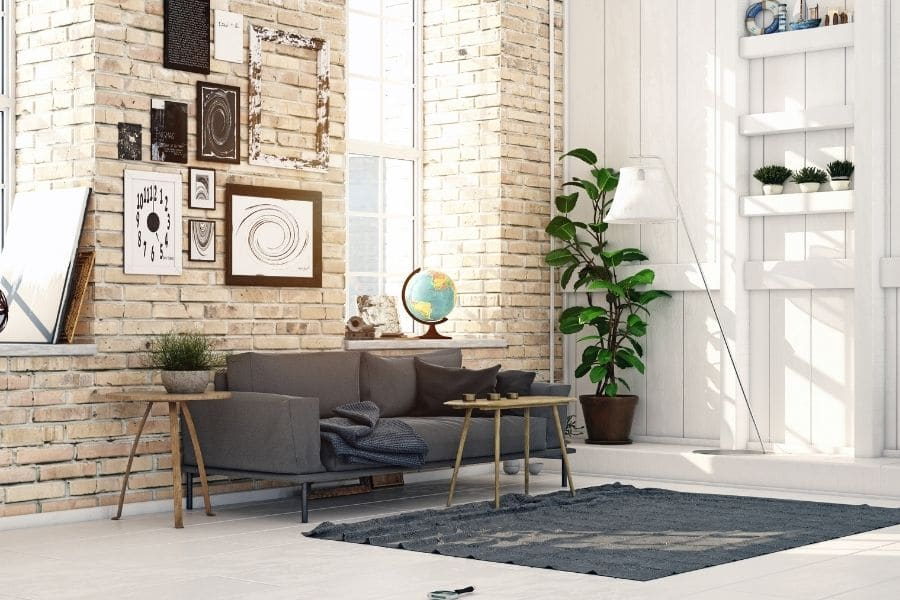 planter in a room